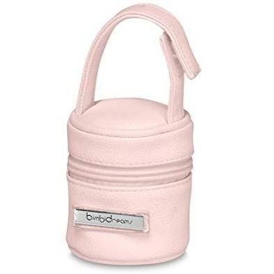 Porta chupetes Bimbidreams color rosa.