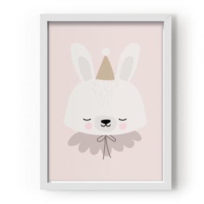Poster A3 Circus Bunny [1]