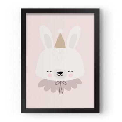 Poster A3 Circus Bunny [2]