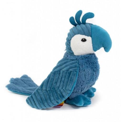 Peluche ptipotos loro Déglingos color azul [0]