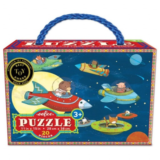 Puzle 20 piezas Up & Away Eeboo