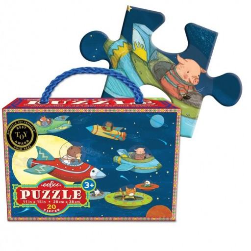 Puzle 20 piezas Up & Away Eeboo [2]