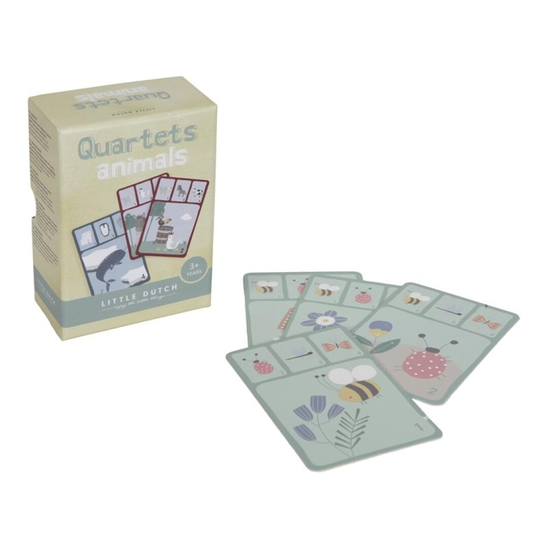 Quartet juego de cartas Little Dutch