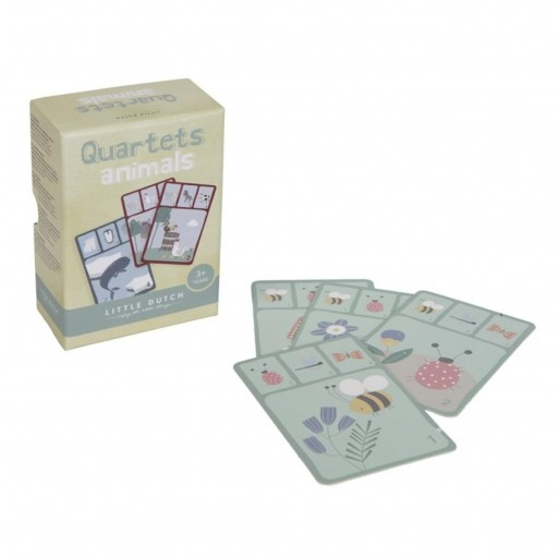 Quartet juego de cartas Little Dutch