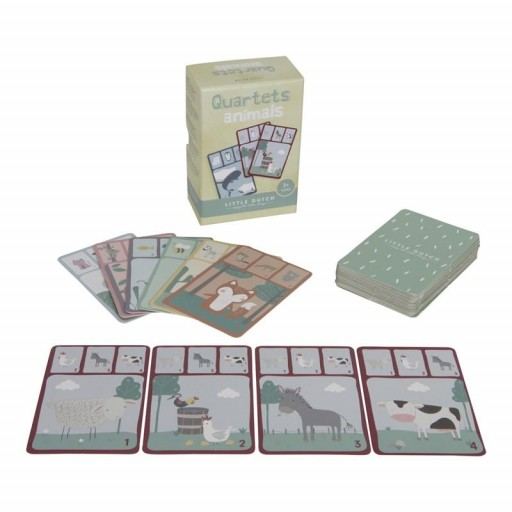 Quartet juego de cartas Little Dutch [1]
