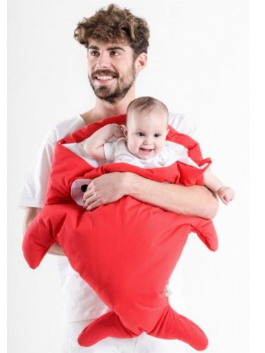 Saco Invierno Baby Bites color rojo mod. Pills [3]