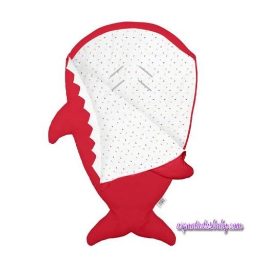 Saco Invierno Baby Bites color rojo mod. Pills [1]