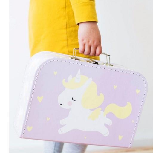 Maleta Bebé mod. Unicornio color lila [2]