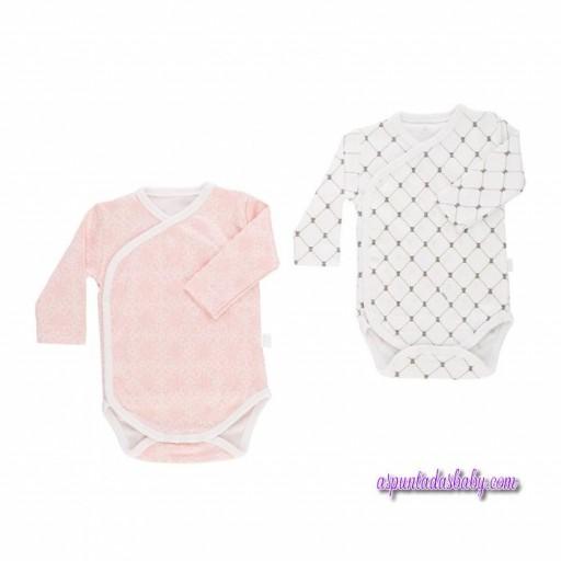 Set Clínica Baby Tous mod. NetB color rosa/blanco.