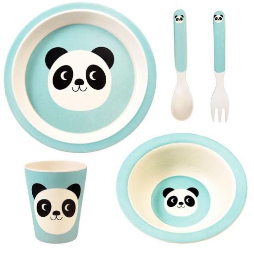 Set Vajilla Bambú Miko El Panda [1]