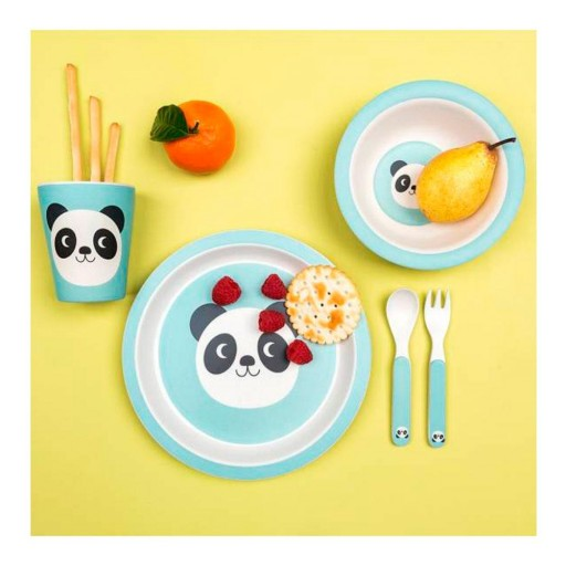 Set Vajilla Bambú Miko El Panda [2]