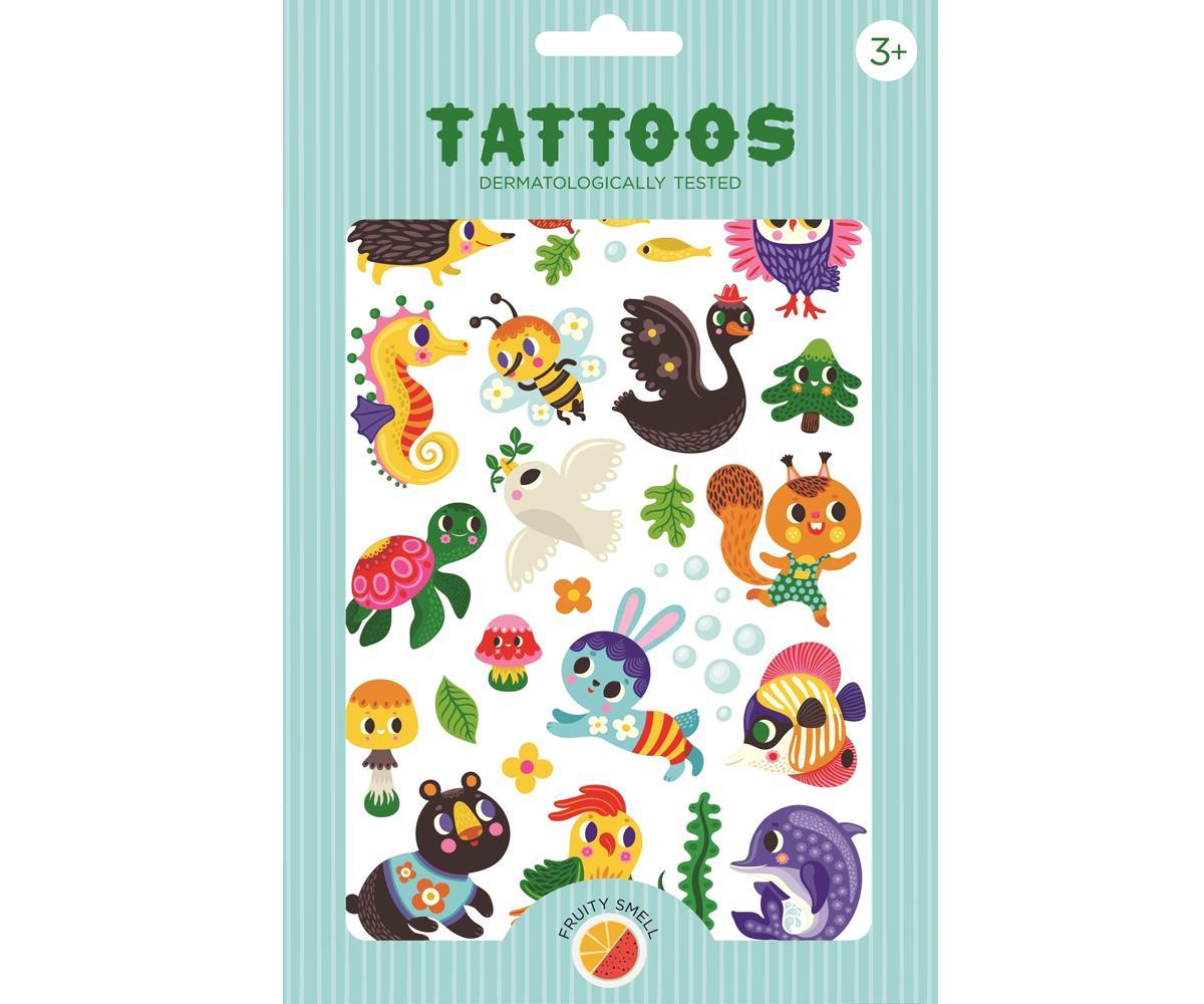 Tatuajes Temporales We Are Family Petit Monkey