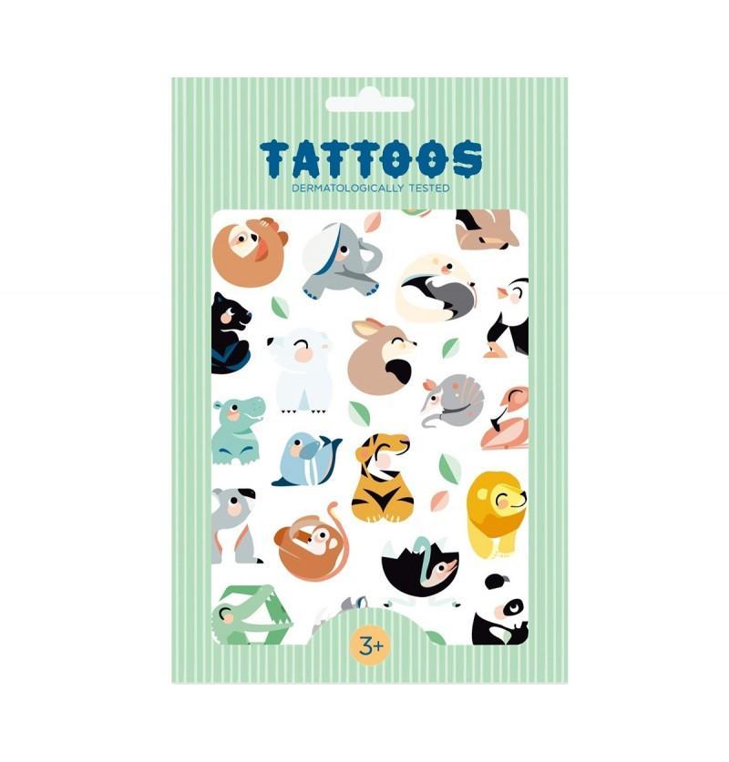 Tatuajes Temporales Wild Animals Petit Monkey