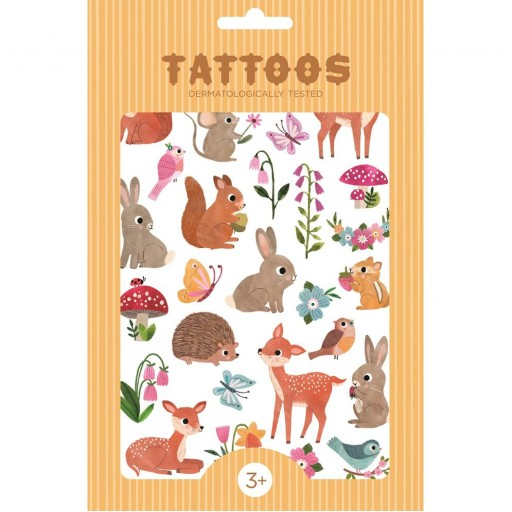 Tatuajes Temporales Woodland Friends Petit Monkey