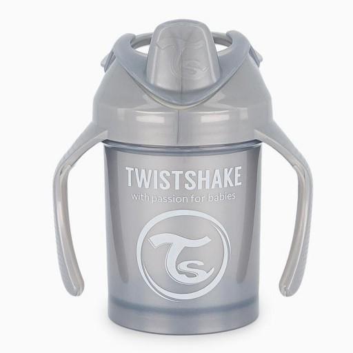 Taza 230ml +4M Gris Twistshake