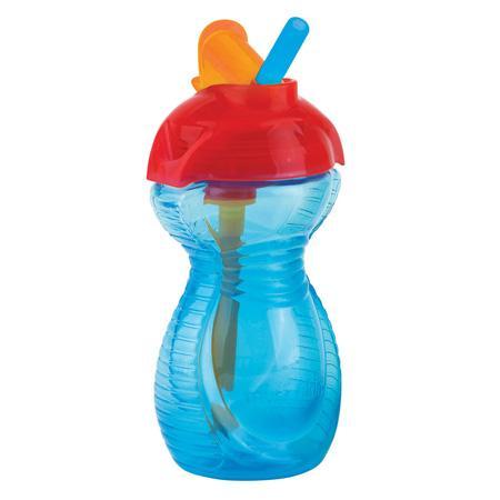 Taza Click Lock™ con pajita abatible (266 ml) color azul