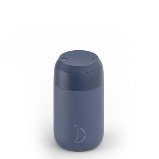 Termo de café Chilly´s  serie 2 color azul whale 500 ml.