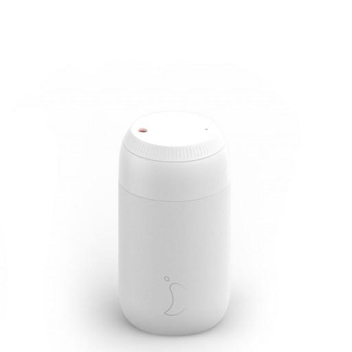 Termo de café Chilly´s  serie 2 color blanco artico 500 ml.