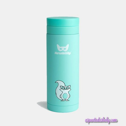 Termo Herobility mod. Flask color turquesa