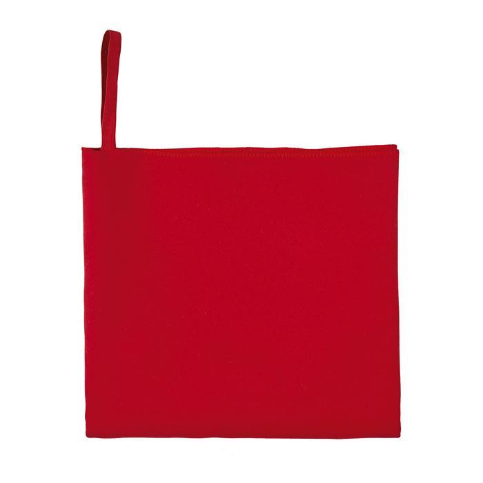 Toalla Microfibra de cara color rojo