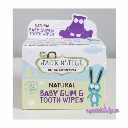Toallitas para Higiene bucal Jack N' Jill