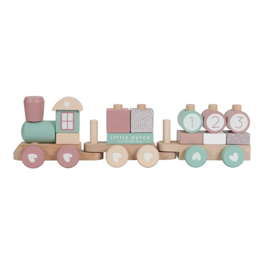 Tren Little Dutch mod. Adventure color rosa.