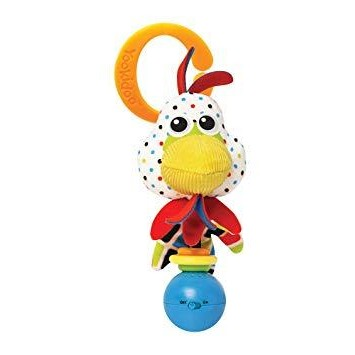 Pollo Sonajero para bebés Shake Me de Yookidoo.
