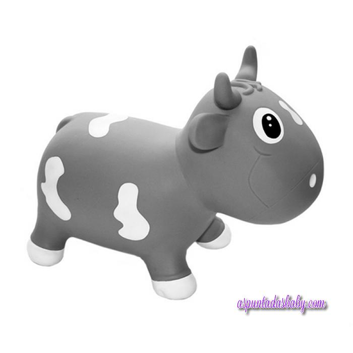 Vaca hinchable Kidzz Farm mod. bella gris
