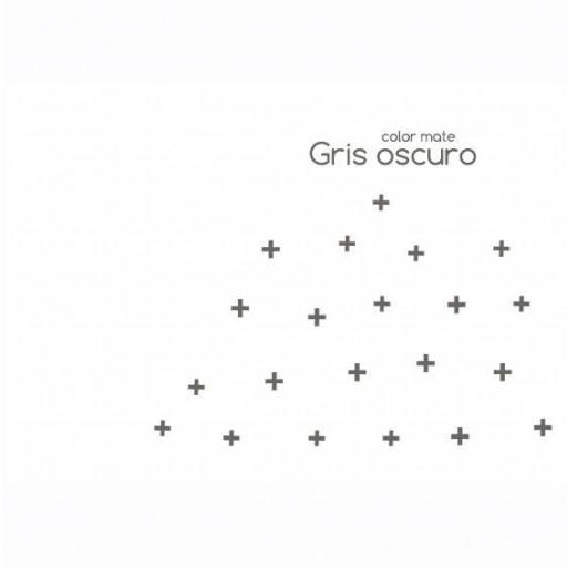 Vinilo mini Cruces : negro / gris oscuro [2]