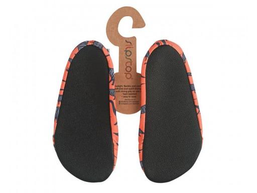 Zapatillas Antideslizantes Slipstop mod. Diplodocus naranja