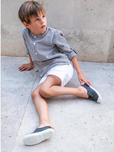 Pantalón Ancar loneta color blanco.  [1]