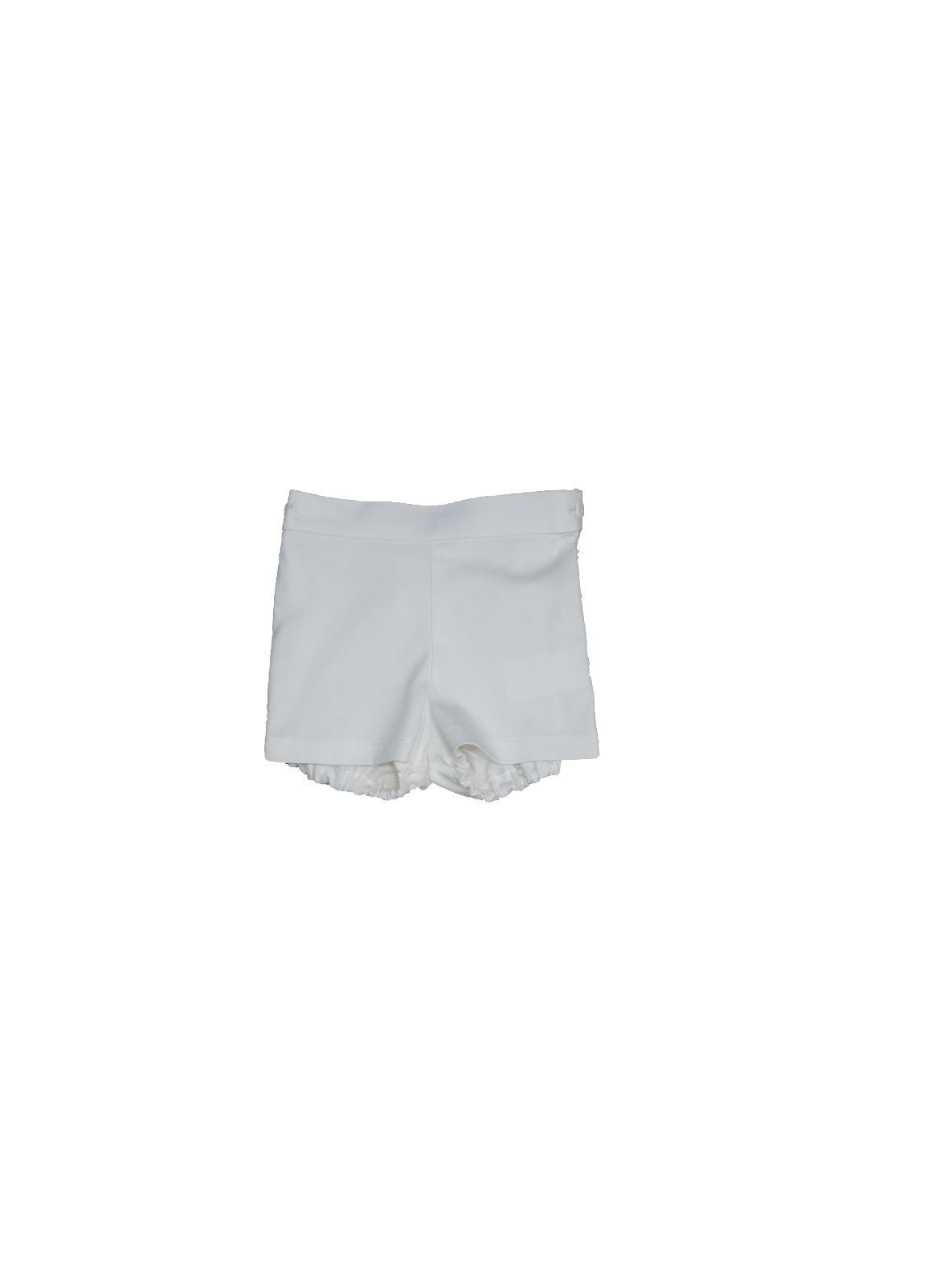 Pantalón corto Ancar color blanco.