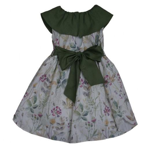 Vestido Ancar flores moradas.  [1]