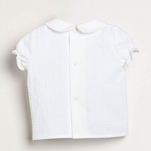 Camisa Ancar cuello bebé color blanco. [2]