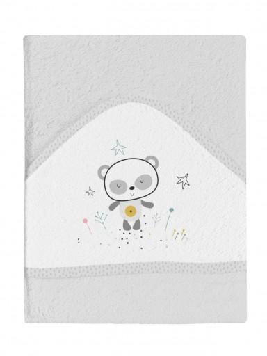 Maxicapa de baño bebé PANDA [1]