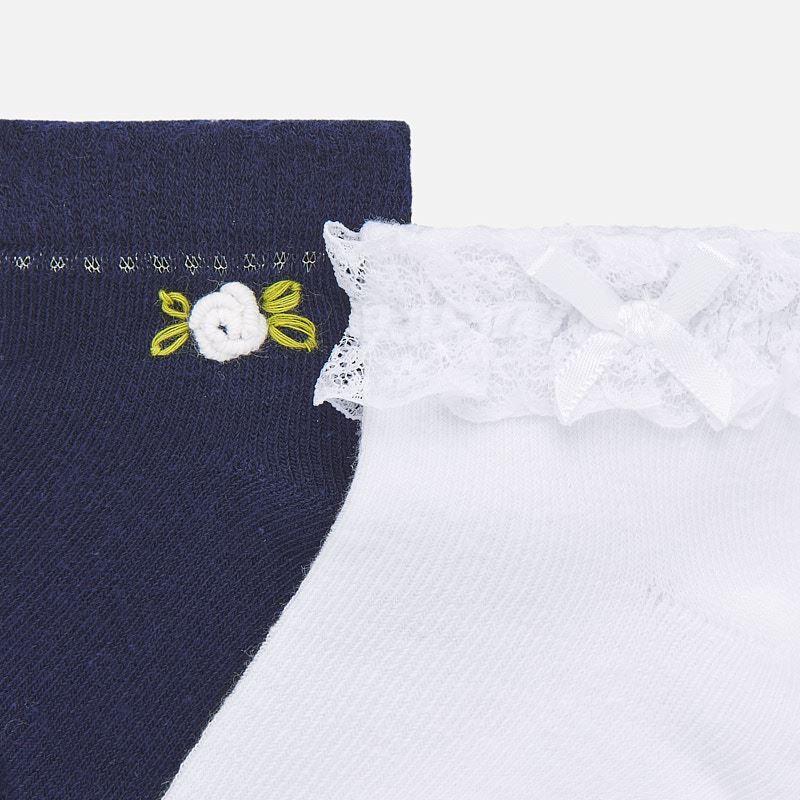 Set calcetines aplique bebé niña