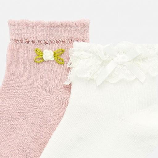 Set calcetines aplique bebé niña [1]