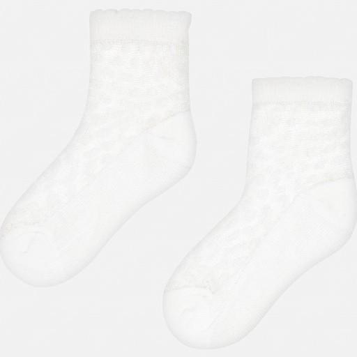 Set calcetines calados niña