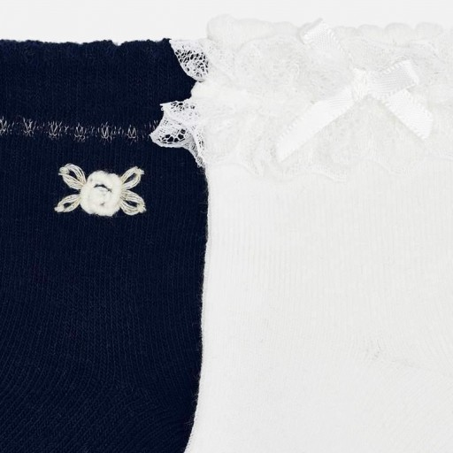 Set calcetines aplique niña [1]