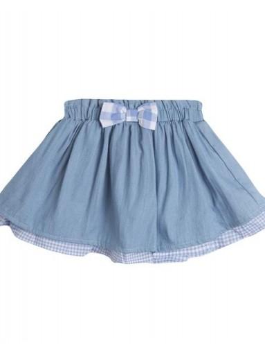 Falda bebé BLUE TEXAN