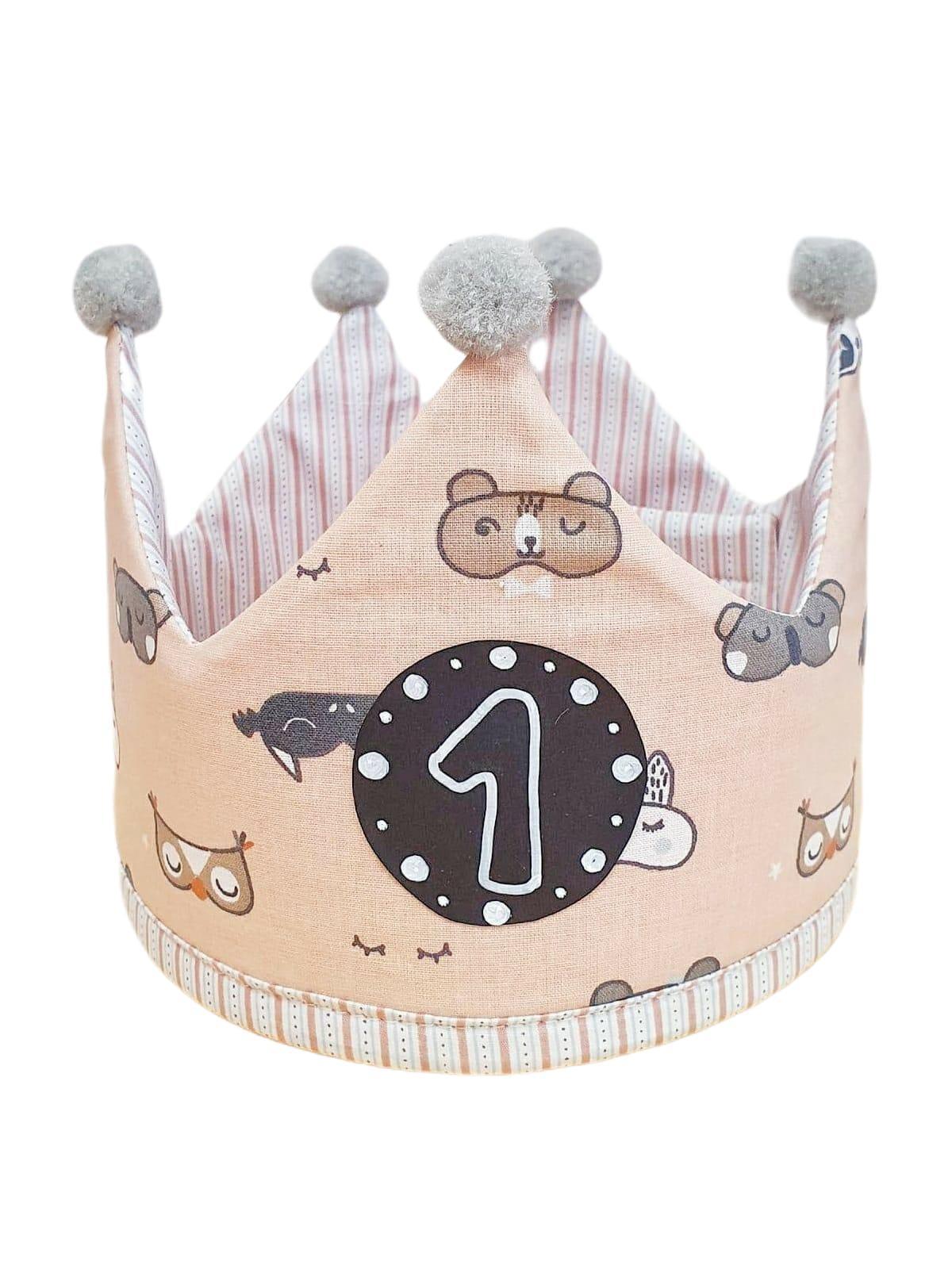 Corona de cumpleaños ANIMALS