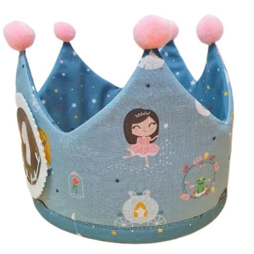 Corona de cumpleaños LITTLE PRINCESS [2]