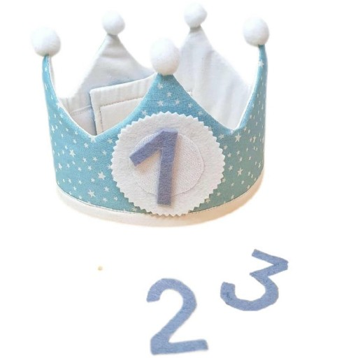 Corona de cumpleaños STARS [1]