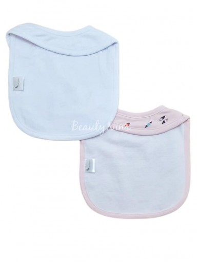 Pack 2 baberos bebé TIPPY ROSA [1]