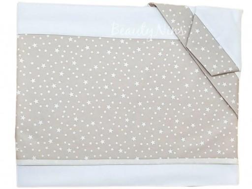 Juego de sábanas bebé minicuna/capazo 50X80cm - CAMEL STARS