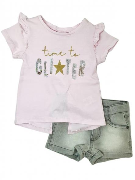 Conjunto niña TIME TO GLITTER