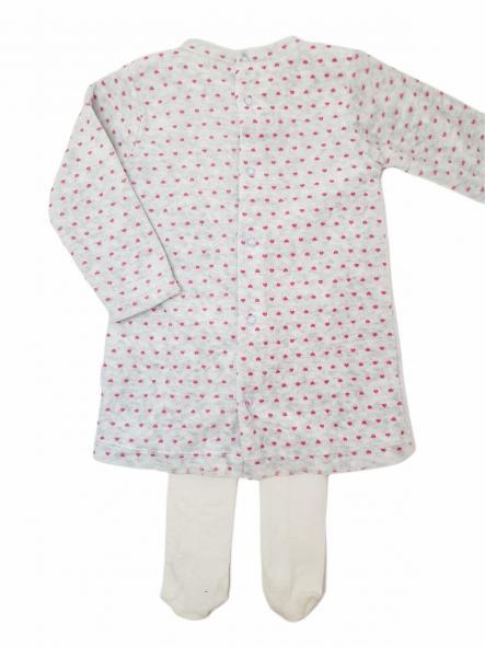 Vestido bebé KITTEN gris [1]