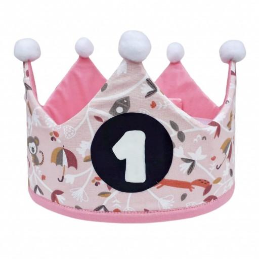 Corona de cumpleaños PINK ADVENTURE