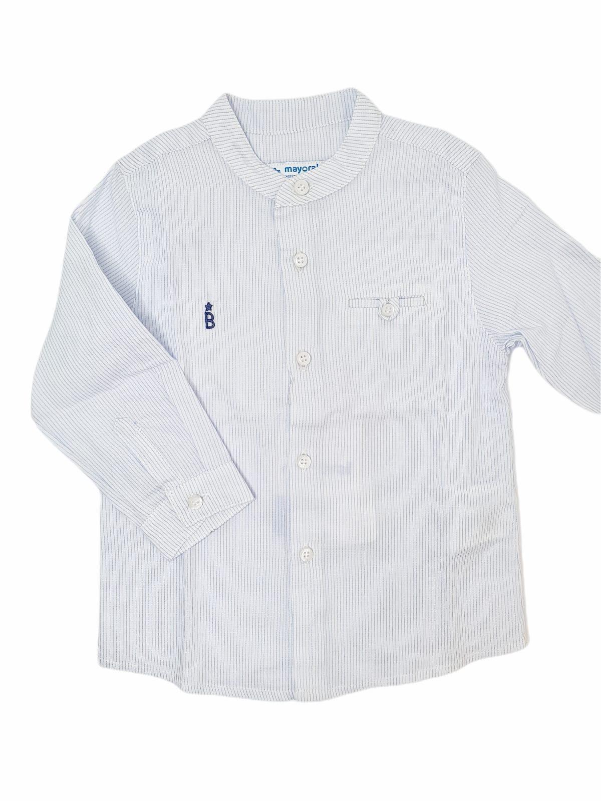 Camisa bebé BLUE STRIPES