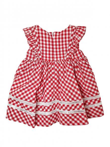 Vestido bebé VICHY [1]